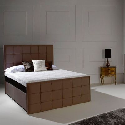 Dormeo Octaspring Loire Fabric Divan Bed With 9500 Mattress Online By From Cfs Uk At Unbeatable Price