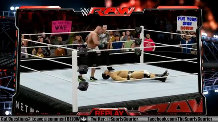 #WWE #RAW 12/28/15 Recap:  John Cena Returns https://youtu.be/tG220V0GY5A