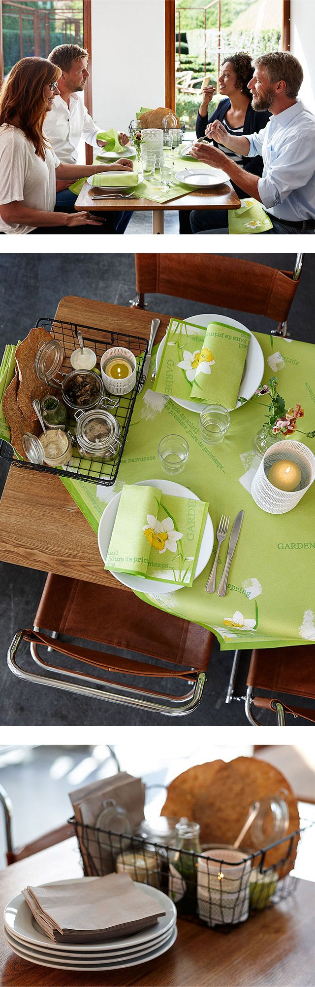 Spring day - life-enhancing easter theme with a touch of vintage