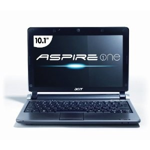 Acer AOD250-1727 10.1-Inch Black Netbook - Up to 9 Hours of Battery Life (Personal Computers)