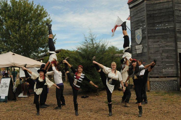 FEAT Acrobatics 10- Person Group Acrobalance outdoor festival