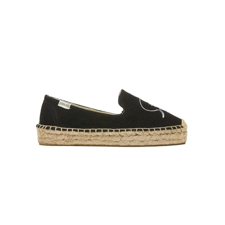 Soludos 'Soludos x Ashkahn Hi/ Hey Smoking Slipper Black' Shoes |Shop Splash    www.shopsplash.com