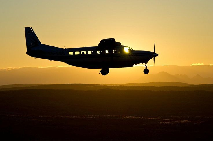 Wilderness Air is privileged to fly into some of the most pristine wilderness destinations in the world. We believe flying is an integral part of guest's travel experience. Sunset over Namibia www.wilderness-air.com
