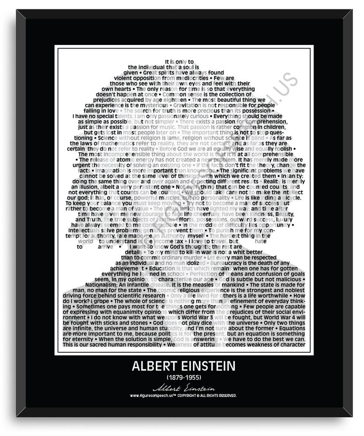 albert einstein speech My credo this article is a speech by albert einstein to the german league of human rights, berlin, in the autumn of 1932 this short speech appears in the appendix.