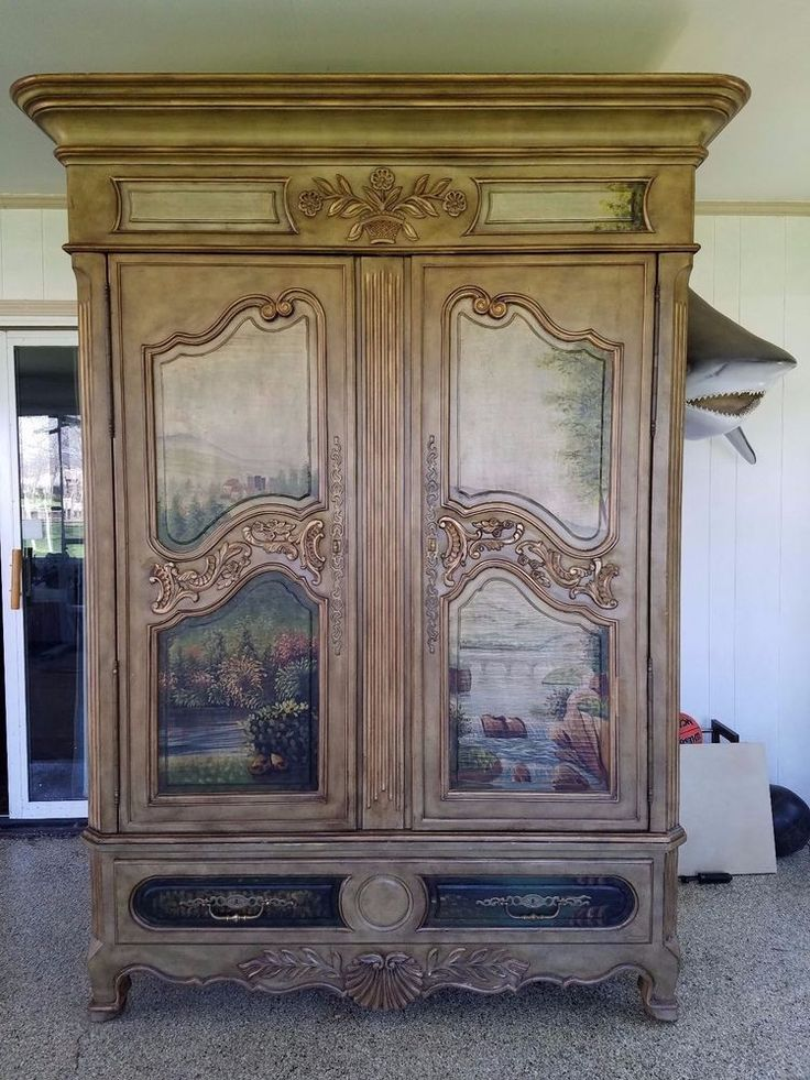 RARE Ernest Hemingway Paris Collection Armoire Thomasville Channeling Hemingway