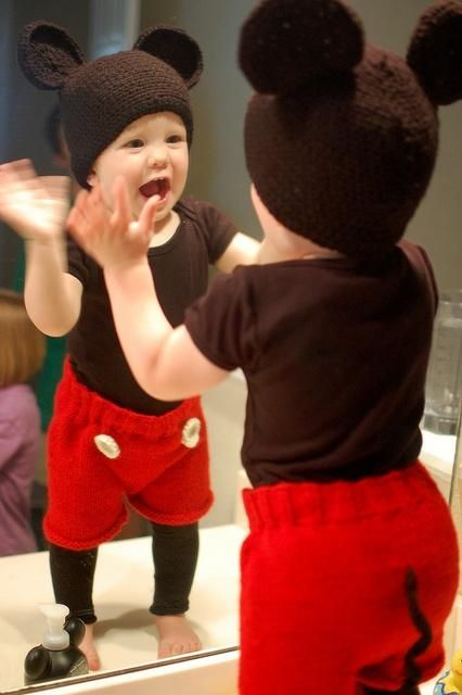 A Mickey Mouse Costume For Toddlers