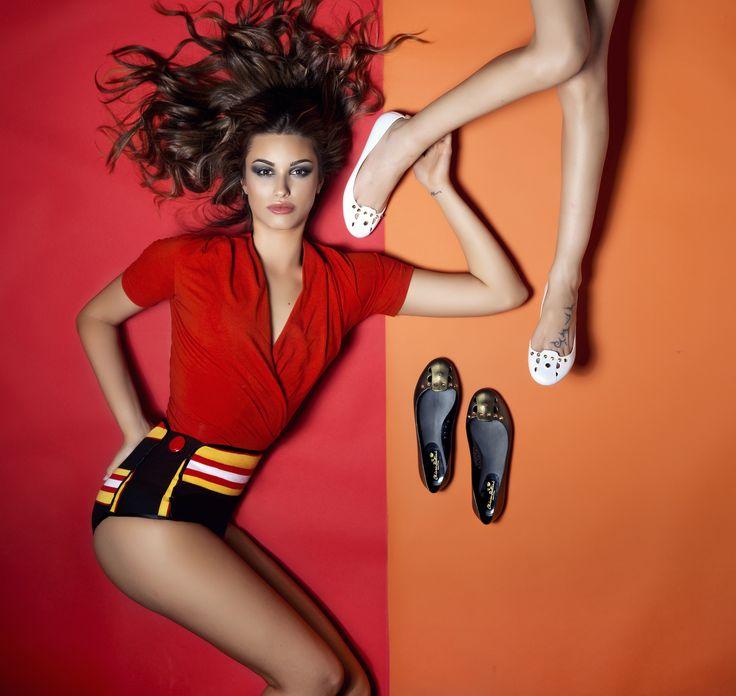 Pvc Ballet Flat by Chiara Bellini