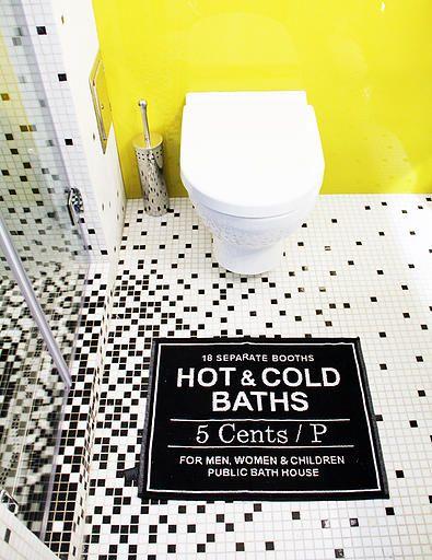 Cool bathroom - design by Petra Nikoletti / Térkultúra Design Team