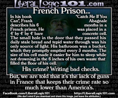 Crime punishment liberal logic 101