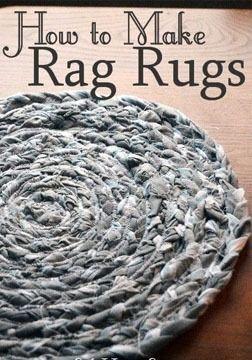 DIY How to Make Rag Rugs