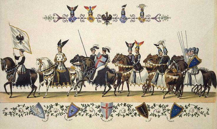 Картинки по запросу рыцарский турнир гравюра
