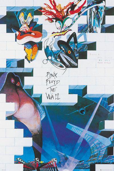 Plakat, Obraz Pink Floyd: The Wall - Album | Kup na Posters.pl