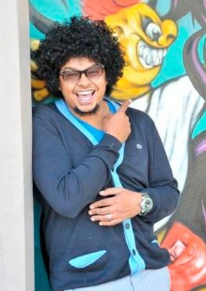"Joey Rasdien is the face of a new generation of South African comedy. He is instantly recognisable thanks to his appearances in movies such as Running Riot, Bunny Chow, Vaatjie Sien Sy Gat, Dollars and White Pipes, as well as the recently released Outrageous, Material  and Blitz Patrollie, not to mention his sell out ""Mixed DNA"" national tour"