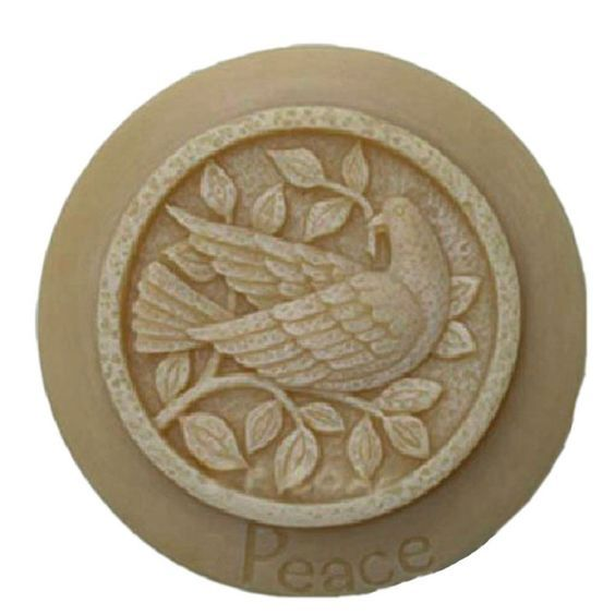 Grainrain Silicone Soap molds Peace Pigeon White DIY Craft Art Handmade Cold Process Soap Making Mould Free Shipping >>> For more information, visit image link.