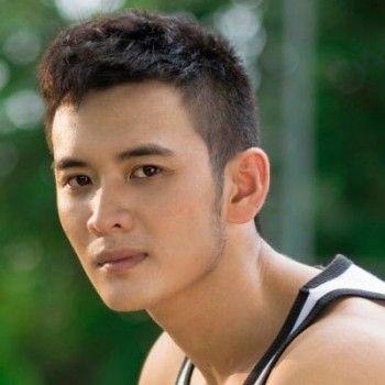 width Peinado 2.014 hombres asiáticos