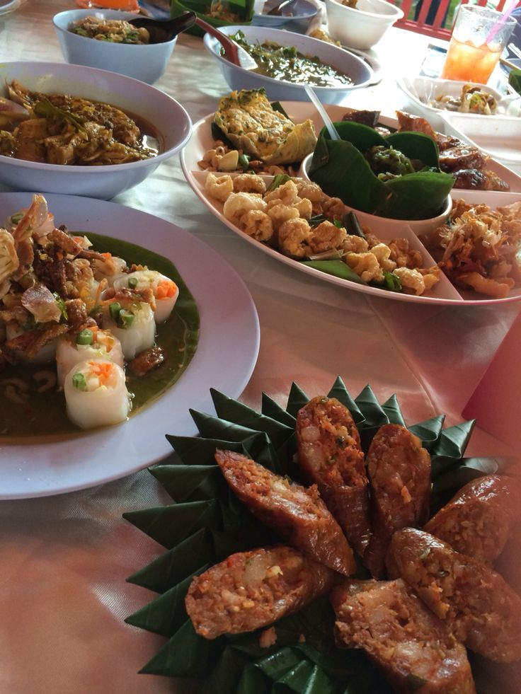Variety of local northern food