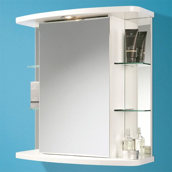 Vera Cabinet Is A Practical Spacious And Good Looking This Illuminated Central Mirrored Door