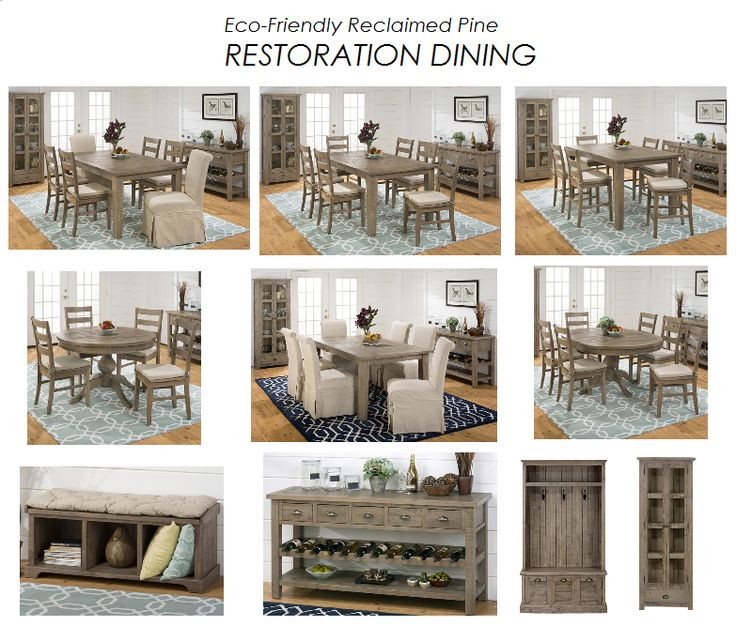 RESTORATION DINING At Spencer Furniture In MA