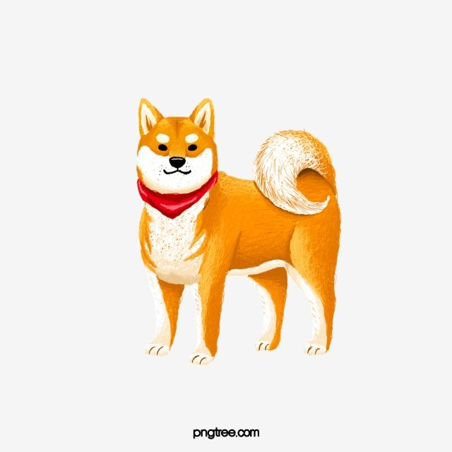 Cartoon Yellow Shiba Inu Illustration Creative Lovely Cartoon Png Transparent Clipart Image And Psd File For Free