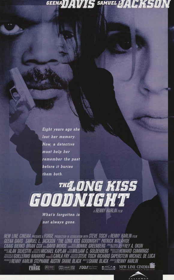 The Long Kiss Goodnight 11x17 Movie Poster (1996)