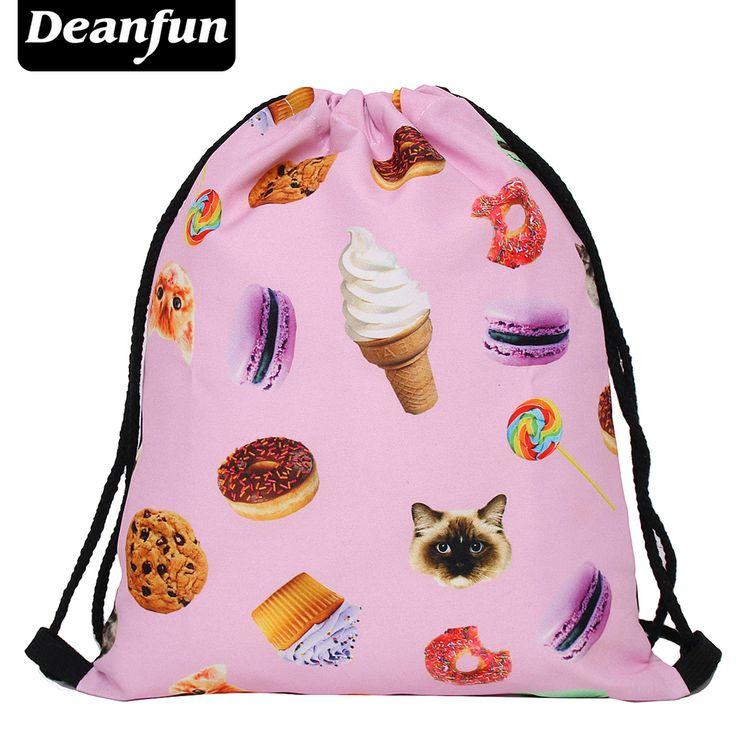 $2.99 (Buy here: https://alitems.com/g/1e8d114494ebda23ff8b16525dc3e8/?i=5&ulp=https%3A%2F%2Fwww.aliexpress.com%2Fitem%2FDeanfun-2016-women-backpack-printing-bag-for-picnic-mochila-feminina-harajuku-drawstring-bag-mens-backpacks-cats%2F32750293857.html ) Deanfun 2016 women backpack printing bag for picnic mochila feminina harajuku drawstring bag mens backpacks cats sweet for just $2.99