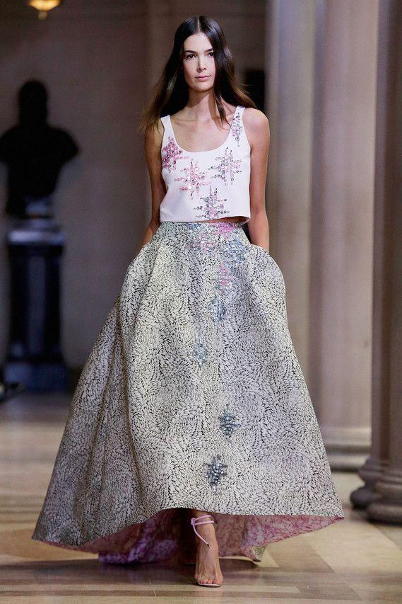 A Carolina Herrera design for spring.