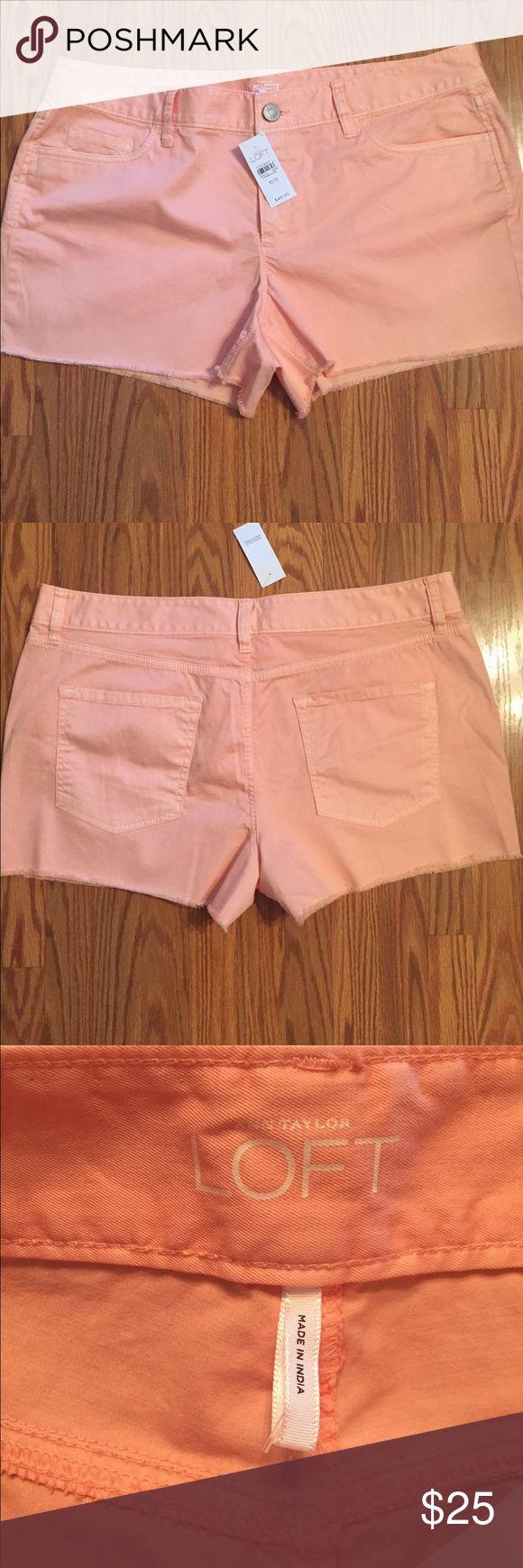 "Ann Taylor loft shorts Ann Taylor loft peach shorts, inseam 3"" Ann Taylor Shorts"
