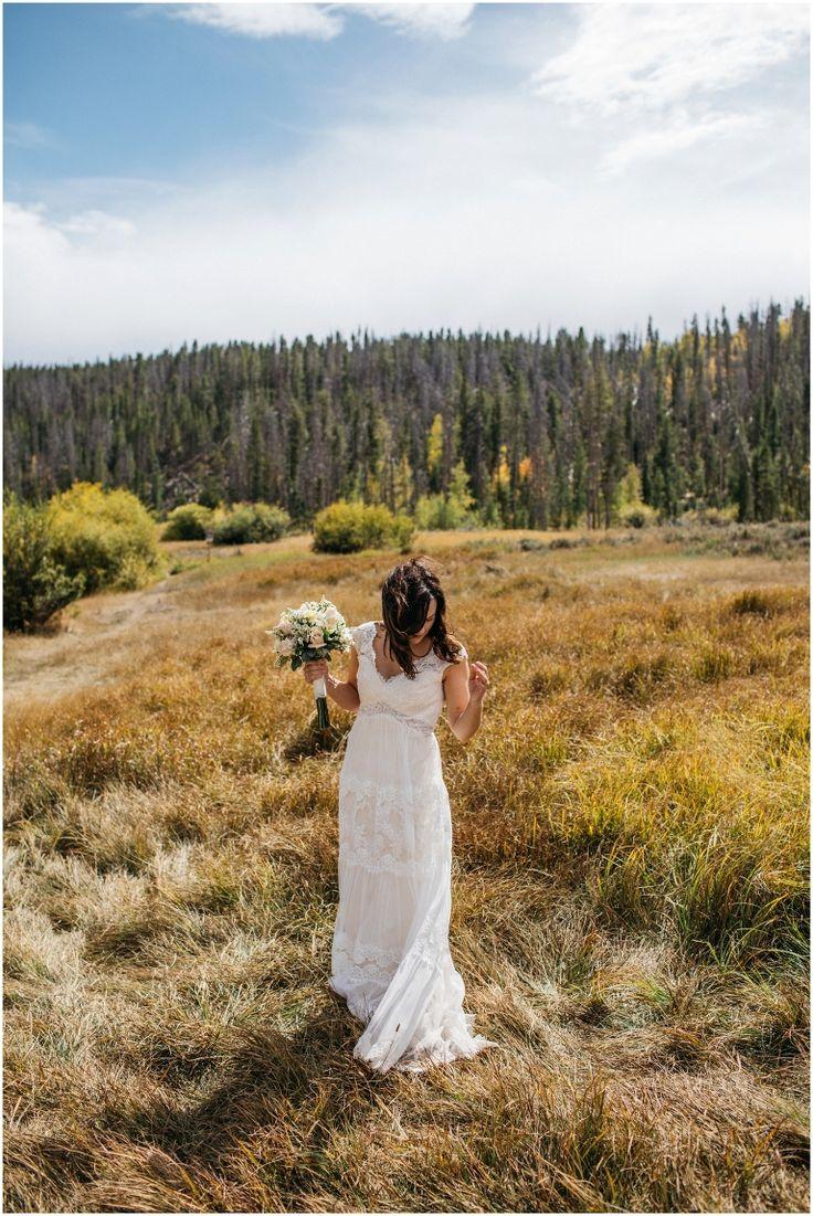 Free People Wedding Dress, Luv Bridal on Broadway, Luv Bridal Wedding Dress, DIY Wedding Flowers, Grand Lake Colorado Wedding, Double A Barn Wedding Photos