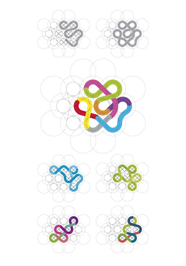 Flow Csoport Dynamic Identity by Villo Farkas, via Behance