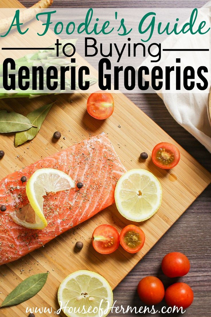 Are you a foodie that wants to cut down on your grocery budget and save some serious cash? Switching to generic or store brands for certain foods will make a big difference! It is important know what things to always buy off-brand, which things are close enough to be worth the savings, and which groceries are worth splurging on the brand names so you don't waste a single penny.