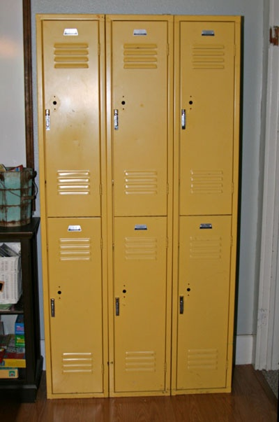 19 best old lockers images on pinterest lockers good for Metal lockers ikea