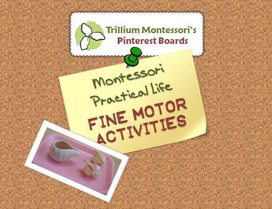 1000 images about montessori practical life fine motor for Montessori fine motor skills