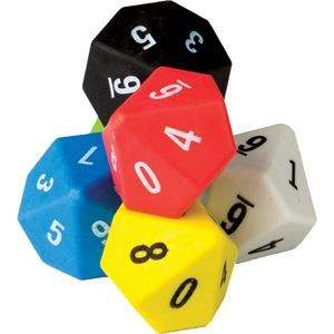 10-Sided Dice 6-Pack