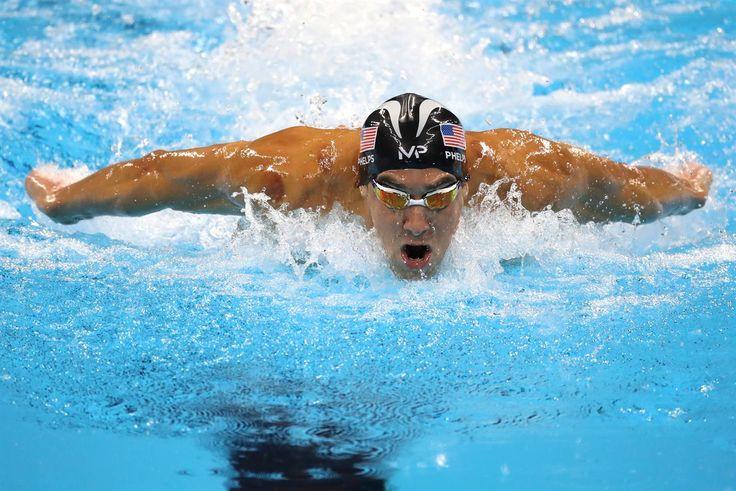 Phelps, Michael - Natación - United States - 200m combinado individual masculino…