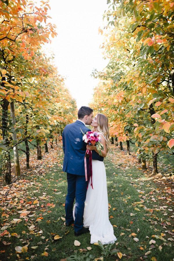 Autumnal Orchard Wedding Inspiration