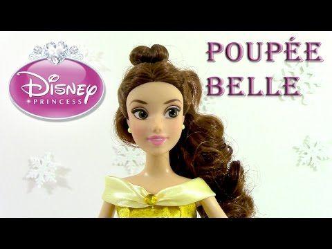 (133) Disney Princesse Review Poupée Belle Disney Store Review - YouTube