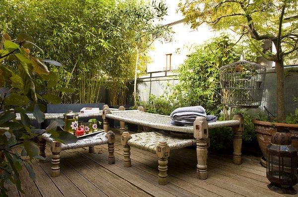 23 best balcon images on Pinterest Balconies, Decks and Small - ciment colore pour terrasse