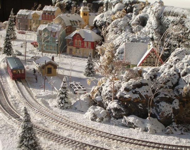 Winter im Schaufenster - auf mymocom der Modellbaucommunity