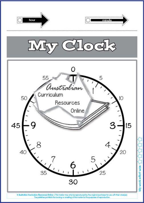 ACMMG020-My Clock
