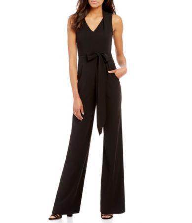 4ceb4d1c750 Shop for Antonio Melani Jason V-Neck Sleeveless Crepe Jumpsuit at  Dillards.com. Visit Dillards.com to find clothing