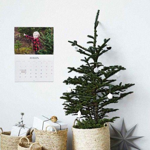 Европейский календарь с возможностью выделять важные даты от @mybookfoto.