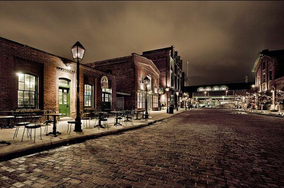 Historic Distillery District in Toronto, ON  http://www.thedistillerydistrict.com
