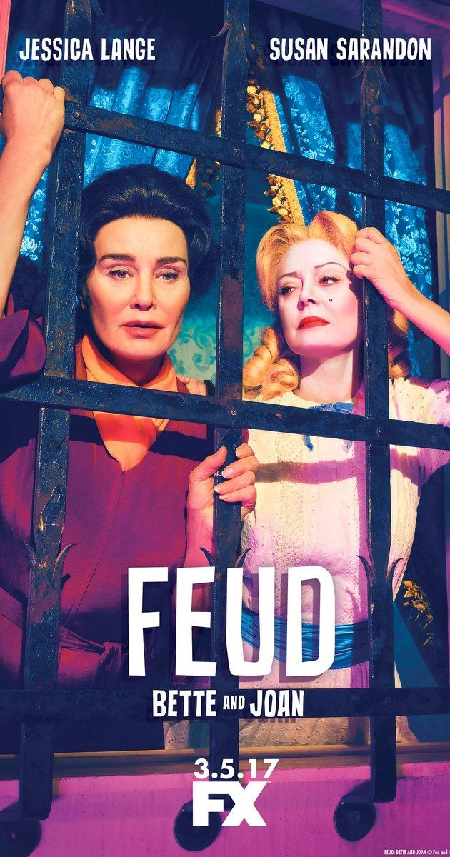 Created by Ryan Murphy, Jaffe Cohen, Michael Zam.  With Jessica Lange, Susan Sarandon, Judy Davis, Jackie Hoffman. An anthology series following famous feuds, including Bette Davis and Joan Crawford, and Prince Charles and Princess Diana.