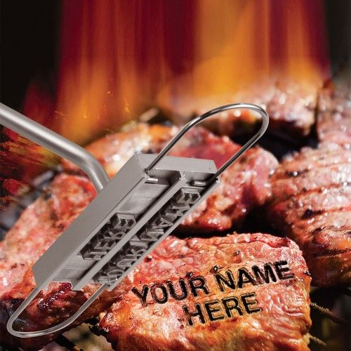 Brandzeichen gefällig? Mit dem BBQ Branding Tool wird eine Fleischverwechslung unmöglich.