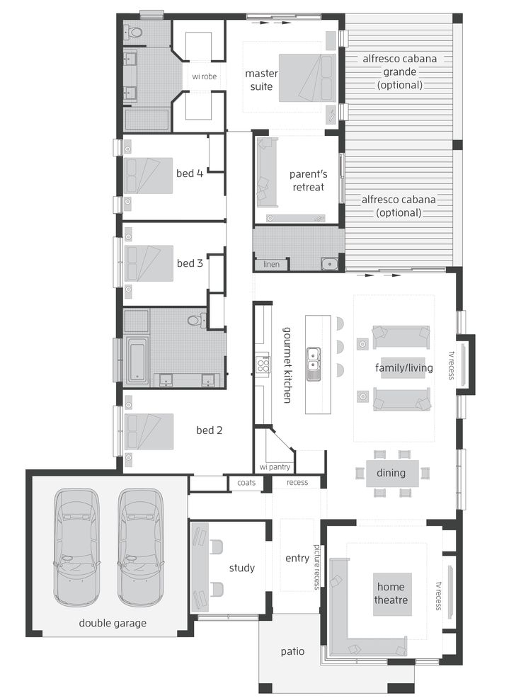 17 best ideas about master bedroom plans on pinterest for Master retreat floor plans