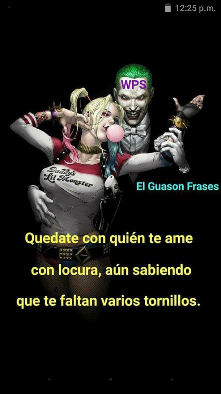 Pin By A Fuentes On Amor Harley Quinn Favorite Words Joker
