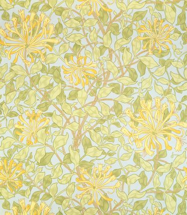William Morris  Honeysuckle, wallpaper