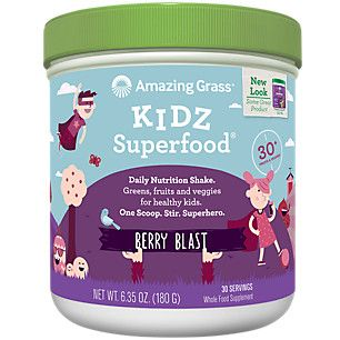 Kidz Superfood - Wild Berry (6.5 Ounces Powder) by Amazing Grass at the Vitamin Shoppe