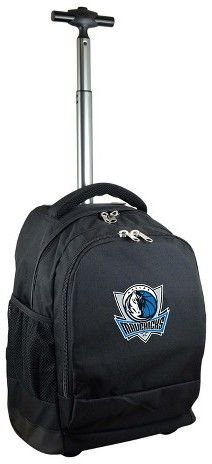 NBA® Mojo Premium Wheeled Backpack - Black