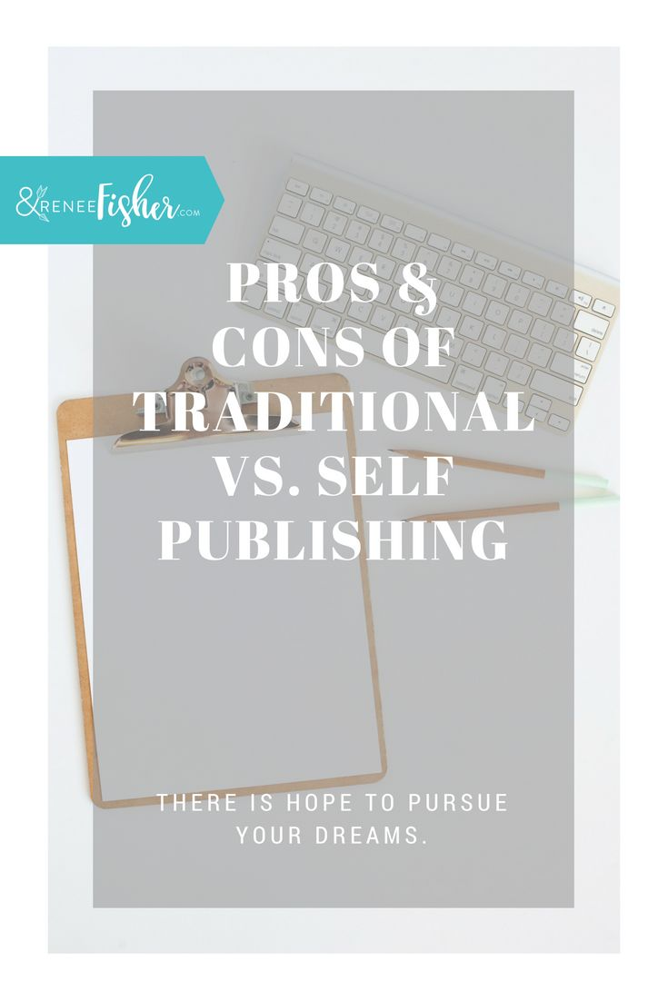 I wrote a pros and cons list of traditional publishing vs. self publishing. I hope this helps you make the best decision for you!